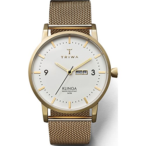 Triwa Ivory Klinga Watch - Gold Mesh