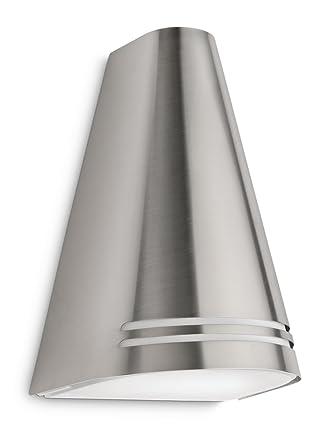 Philips myGarden Woods 172264716 Aplique de Acero Inoxidable, Plateado