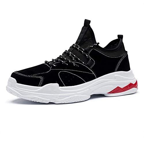 2018 Zapatos nuevos para Hombres, Zapatos de Entrenamiento Casuales/de Viaje, Zapatillas de Cuero Artificiales, Zapatos de Gimnasio con Comodidad en ...
