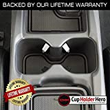 CupHolderHero for Honda CR-V 2017-2019 Custom Liner Accessories – Premium Cup Holder, Console, and Door Pocket Inserts 19-pc Set