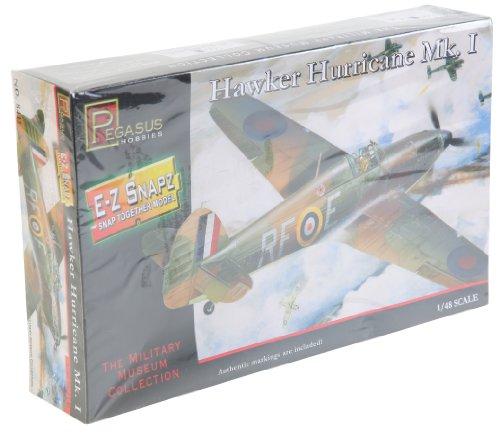 Pegasus Hobbies 1/48 Snap, Hawker Hurricane Mk1 PGH8411