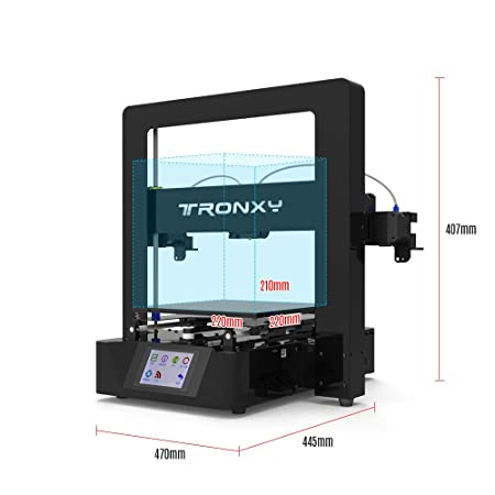 Tronxy Kit de impresora 3D de ensamblaje simple con pantalla ...