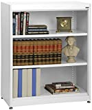 Sandusky Lee BA2R361842-22 Elite Series Radius Edge Welded Bookcase, 18'' Length x 42'' Height x 36'' Width, White