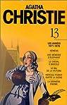 Agatha Christie, Intégrale 13 : Les années 1971 - 1976 par Christie