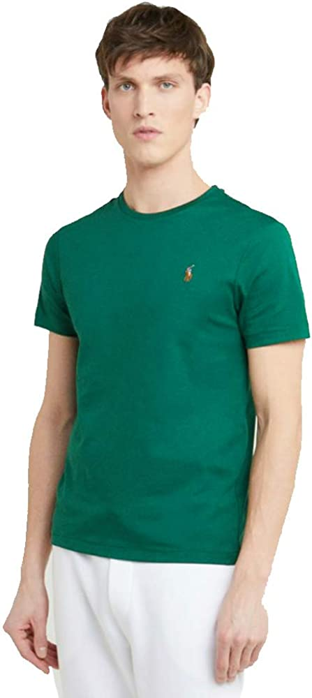Ralph Lauren Camiseta Basica para Hombre Custom Slim Fit (XL ...