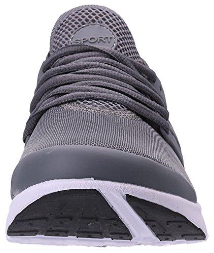 40 Grigio Shoes PORTANT da Uomo Scarpe 45 Sneaker Sportive Running Hq70H