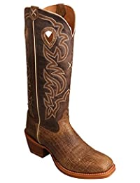 Twisted X Boots Mens Bisconte Hippo 16 Rustico Top 11 D Chocolate