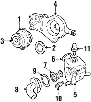 Zetec Cast Aluminum Thermostat Housing Ford Focus Escort Contour Escape Cougar ZX2 SVT 95-04