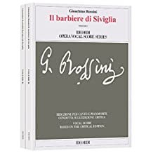 Il barbiere di Siviglia: Vocal Score based on the Critical Edition