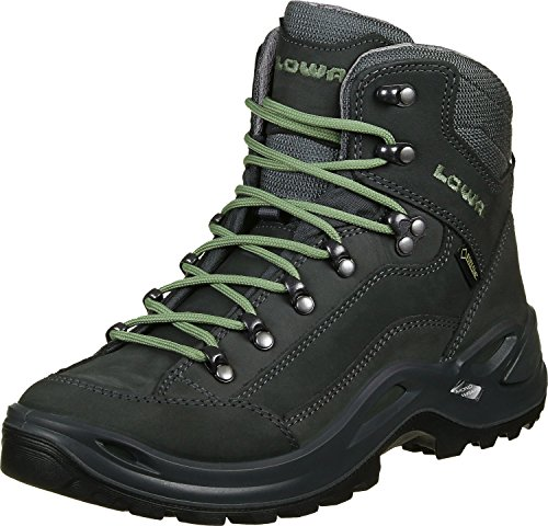 Lowa Renegade GTX Mid Ws Mountain Boots for Women Graphite Jade qN4Ot5Q1