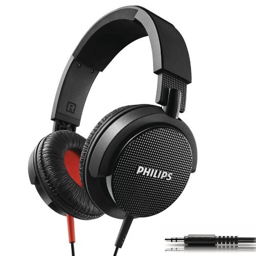 Brand New Philips SHL3100 DJ Foldable Headband Bass headphones Over-ear for iPod MP3 CD ()