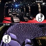 16W Bluetooth Twinkle Fiber Optic Star Ceiling