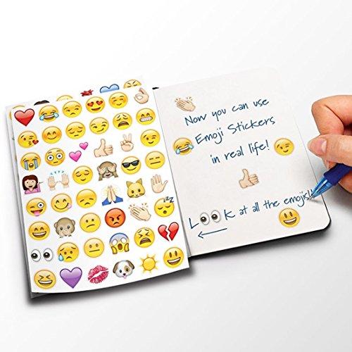 Large Viny 912 Die Cut Emoji Stickers Pack for iPhone Instagram Twitter (Primo Pan Organic Cookies)