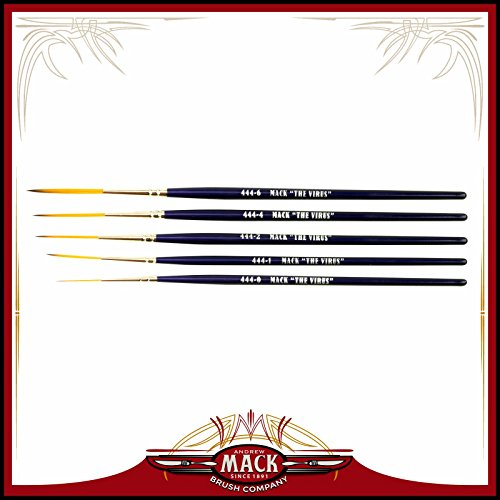 set-of-5-size-0-6-series-444-the-virus-scrolling-script-pinstriping-brush-with-specially-blended-gol