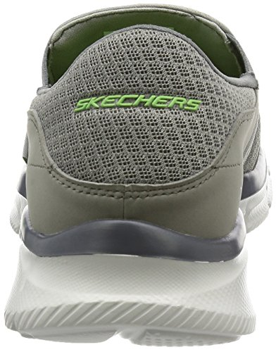 Homme Skechers Persistent Equalizer Gry Mokassins Grau xqvq0fzTn