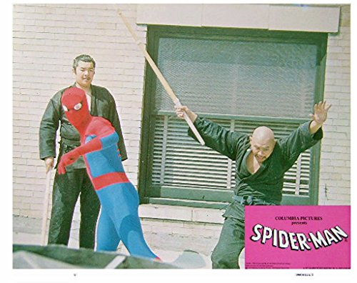 Spider-Man 1977 Authentic, Original VINTAGE 11×14 Marvel Production 11×14 Lobby Card #1