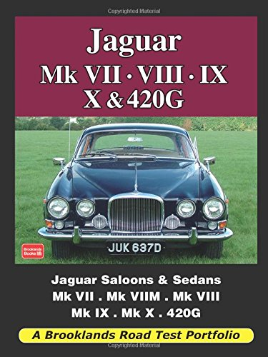 Jaguar Mk VII. VIII. IX. X and 420G pdf