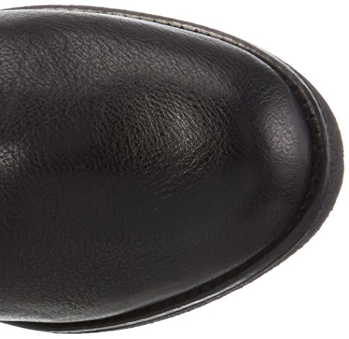 MANAS 162M5302TOX - Botas altas con tacón para mujer Negro (Nero+Nero)