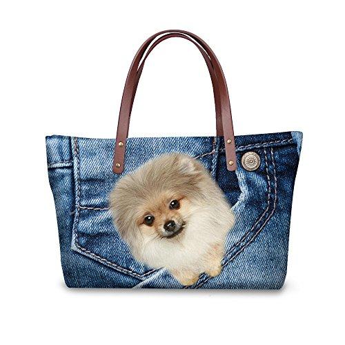 Women C8wcc1935al Purse Handle Print Top Foldable FancyPrint Wallets Handbags Satchel Fruit Bags FgYWx6