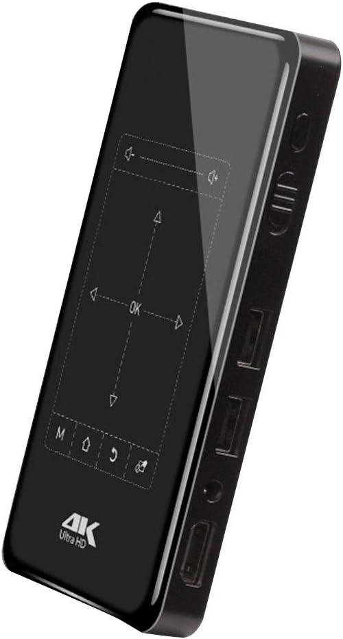 Hanbaili Proyector 4K 1080P HD 4K HD Proyector Inteligente Escuela ...