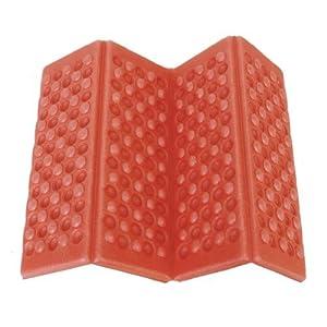 Omeny schiuma pieghevole esterno pieghevole sedile impermeabile cuscino cuscino per sedia da campeggio giardino (rosso) 10 spesavip