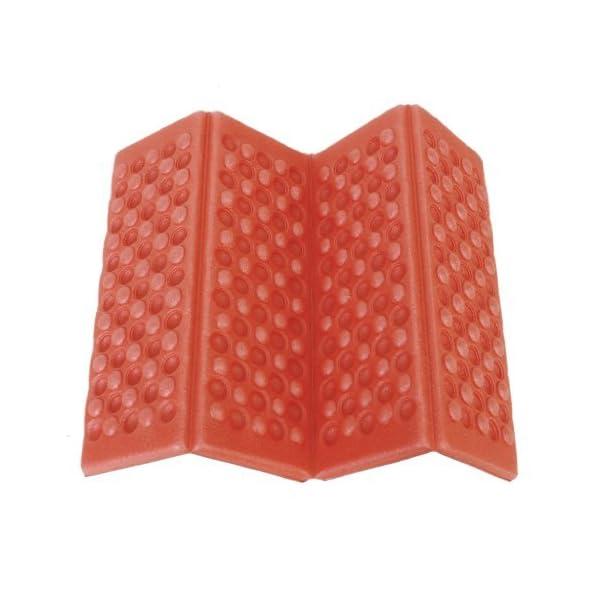 YEAH67886Outdoor portabilità schiuma pieghevole cuscino per sedia da campeggio esterno cuscino (rosso) 1 spesavip