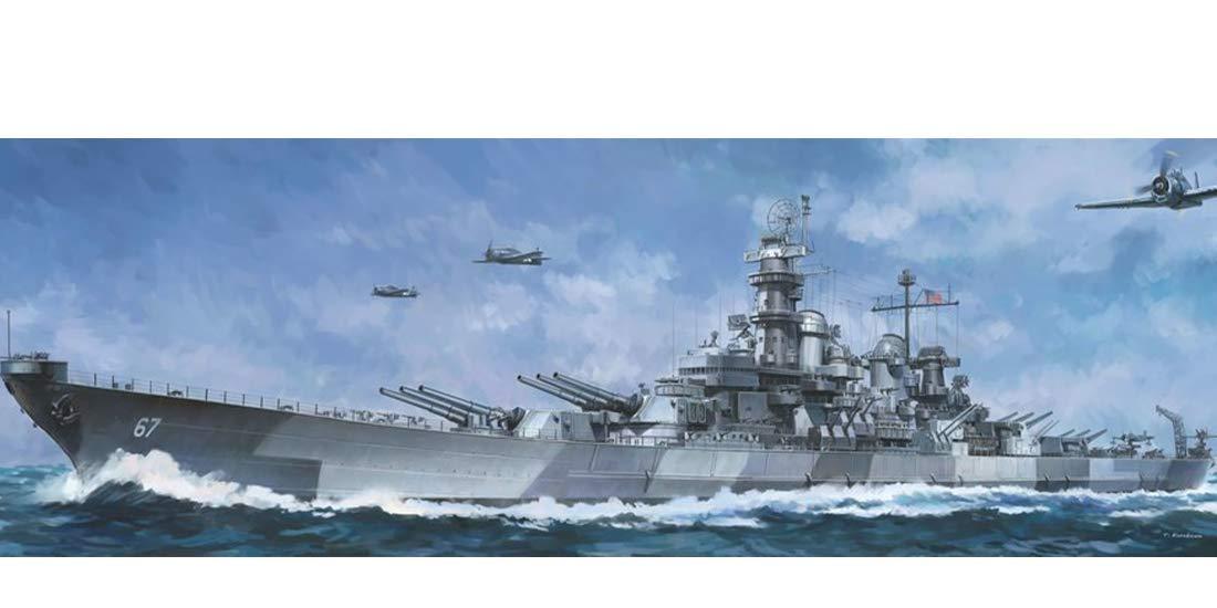 1/350 Blue Ridge Models USS Montana BB-67 Battleship Plastic Model Kit
