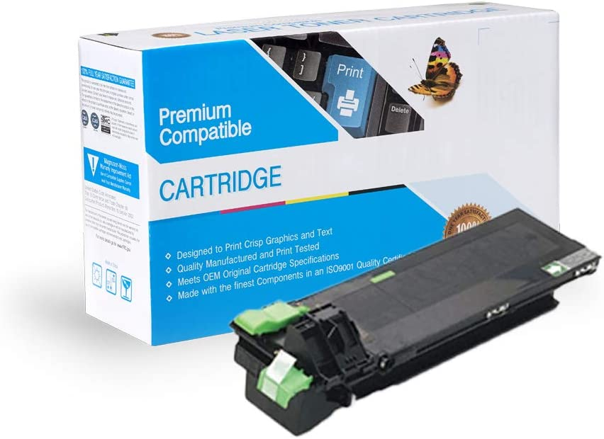 Not for AR200TD Works with: AR162 not AR-160 M160 AR163 AR164 AR207 Black M205,for AR M-160 202NT AR201 On-Site Laser Compatible Toner Replacement for Sharp 201NT