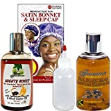 Fountain Mighty Roots Moisturizing Kit For Fast Edge And Hair Growth