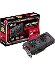 Deal on ASUS Expedition Radeon RX 570 8GB OC Edition Gaming GDDR5 DP HDMI DVI VR Ready AMD Graphics Card (EX-RX570-O8G)