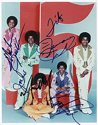 9f29fc1262a The Jackson 5 Five Michael Plus All Autographed Signed Photo AFTAL UACC RD  at Amazon s Entertainment Collectibles Store