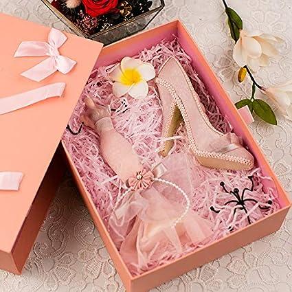 JWLW Neto rojo regalo de cumpleaños miel DIY coreano ...