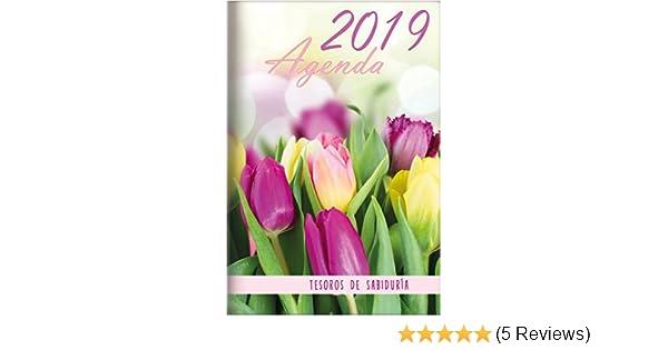 Amazon.com: 2019 Agenda - Tesoros de Sabiduría - Tulipanes ...