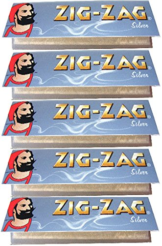Used, ZIG-ZAG Silver Ultra Fine Rolling Papers 1 1/4 Size for sale  Delivered anywhere in Canada