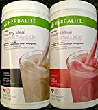 Herbalife Formula1 Lot of 2 Nutritional Shake Choose Flavors! (Wild Berry)