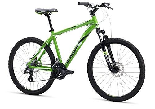 "Mongoose M13SWIXPS2 Men's Switchback Expert Mountain Bike, Green, 16""/Small"