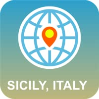 Sicilia, Italia Mappa Offline
