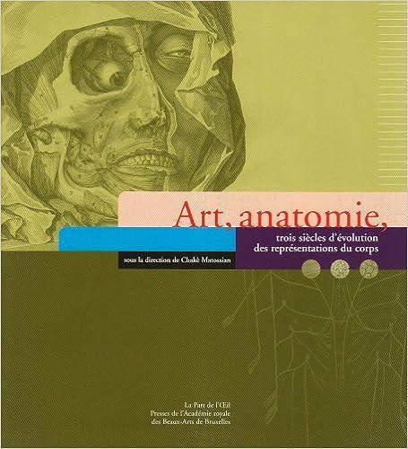 Book art, anatomie, trois siècles d'évolution des représentations