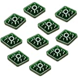 Horror Card Game, Clue Tokens, Translucent Green (10)