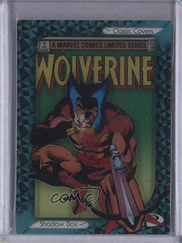 (Wolverine Vol. 1 #4 (Trading Card) 2014 Upper Deck Marvel Premier - Classic Covers Shadow Box #CSB-30)