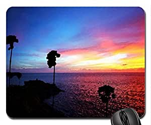 Colorful sky Mouse Pad, Mousepad (Sunsets Mouse Pad, 10.2 x 8.3 x 0.12 inches)