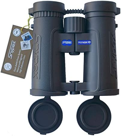 snypex Profinder HD 8 x 32 Sport Optic Binocular for Hiking, Biking, Camping, Travel, Safari