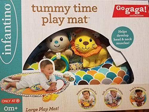 Infantino Tummy Time Play Mat -