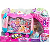 Shopkins Cutie Cars   Play 'n' Display Cupcake Van with Exclusive Cutie Car Mini