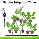 YRD TECH Family Garden Irrigation Dial Automatic Electronic Water Timer Garden Watering (Multicolor)