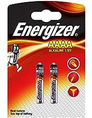 Piles spéciales AAAA Energizer, pack de2