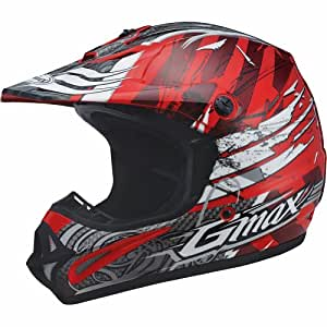 Amazon.com: GMAX GM46X-1 Shredder Adult Motocross/Off-Road