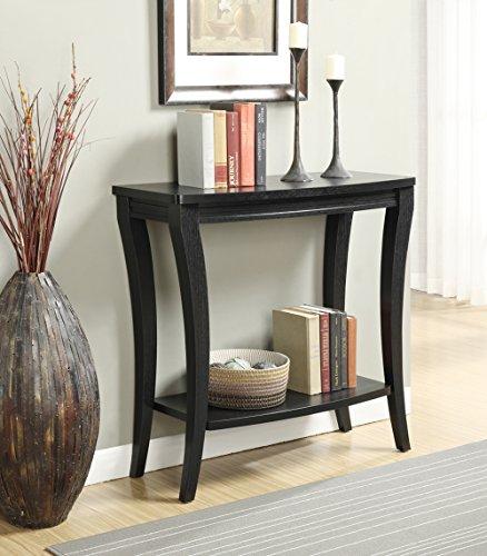 Convenience Concepts Newport Console Table Black