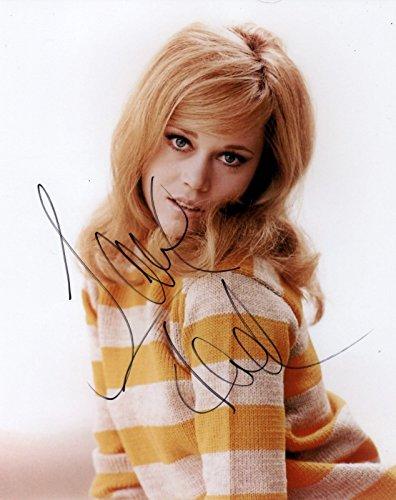 Jane Fonda REAL hand SIGNED 8x10