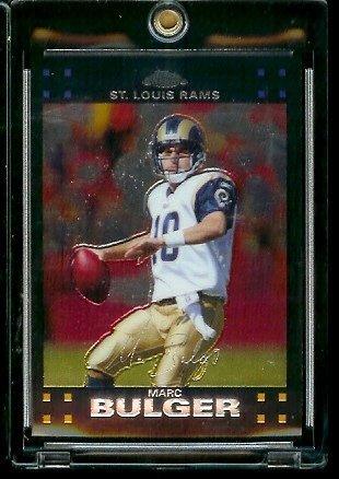 2007 Topps Chrome # TC9 Marc Bulger - NFL Football Cards